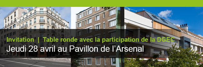 Invitation | Petit-déjeuner jeudi 28 avril au Pavillon de l'Arsenal