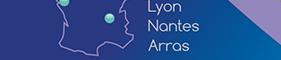 Paris - Lyon - Nantes - Arras