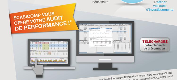 Scasicomp vous offre votre Audit de performance !