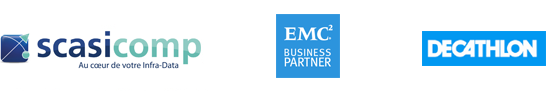 Scasicomp - EMC2 Business Partner - Decathlon