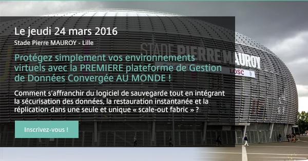 Stade Pierre MAUROY – Lille Le jeudi 24 mars 2016