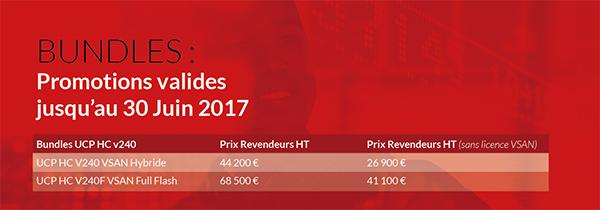 BUNDLES : Promotions valides jusqu'au 30 juin 2017