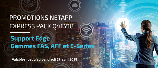 Promotions NetApp Express pack Q4FY18