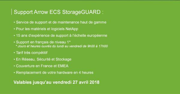 Support Arrow ECS StorageGuard